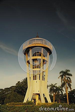 Torre superior da visão de Seletar