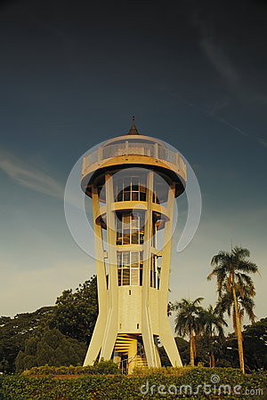 Torre superior de la visión de Seletar