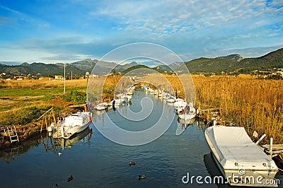 Torrent  Salvel,  Port d Andratx, Mallorca, Spain