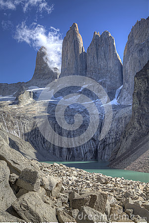 The torres del paine