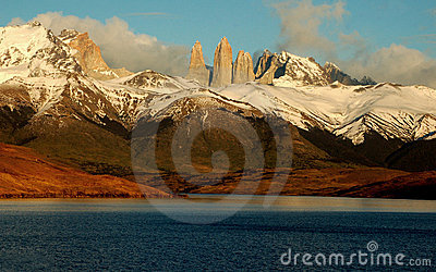 Torres del Paine and Lake Azul