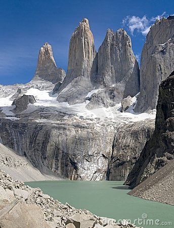 Free Torres Del Paine (portrait) Royalty Free Stock Photo - 11045635
