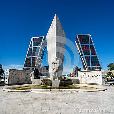 Free Torres Kio In Madrid Stock Photos - 35478153