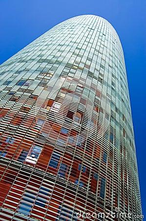Torretta di Agbar, Barcellona