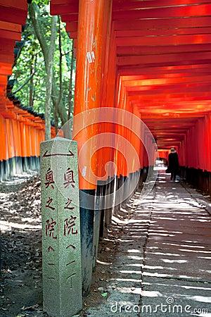 Torri in Kyoto