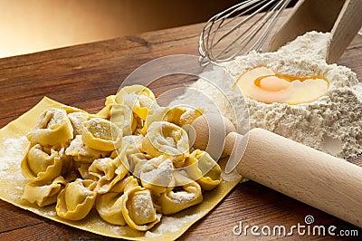 Tortellini pasta homemade