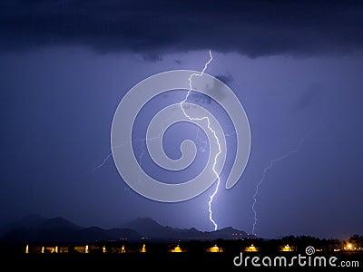 Tortolita Lightning
