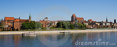 Torun old city