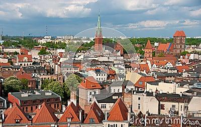 Torun panorama, Poland