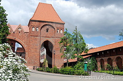Torun, Poland: 13th Century Gdanisko Tower