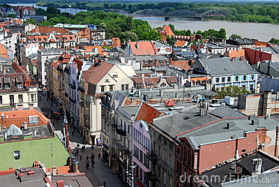 Torun, Poland: View of the City Editorial Image