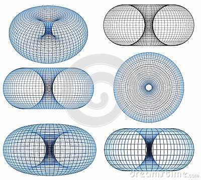 Free Torus 3d Royalty Free Stock Images - 44433889