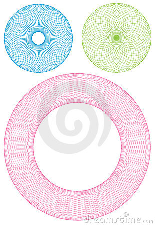 Free Torus Vector Royalty Free Stock Photos - 9647268