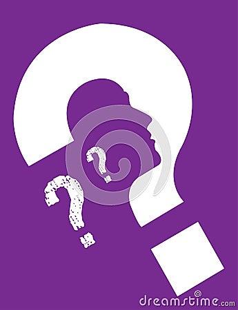 Tożsamości osobiste purpurowy