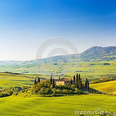 Toscana en la primavera