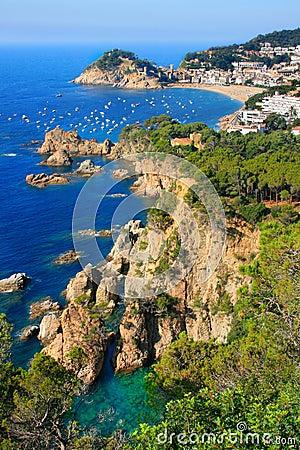 Free Tossa De Mar Royalty Free Stock Photography - 4062037