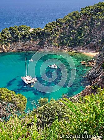 Free Tossa-de-Mar,coastal Landscape,Costa Brava,Spain Stock Photos - 34240933