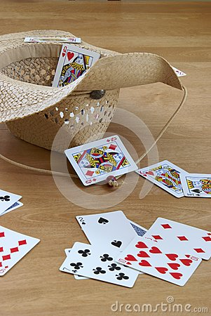 Tossing Cards