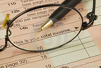 Total income in the Income Tax return