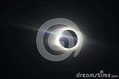 Total Solar Eclipse in Novosibirsk Editorial Photo