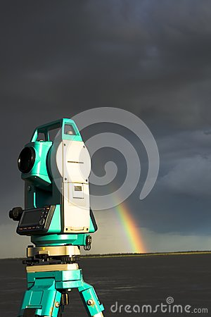 Total station & Rainbow