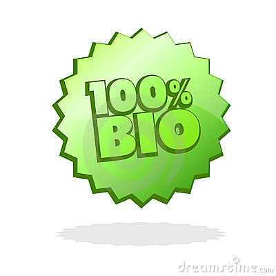 Totally bio product badge