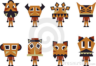 Totem characters