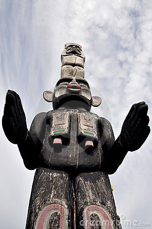 Free Totem Guarding The Spirits Stock Photo - 23518660