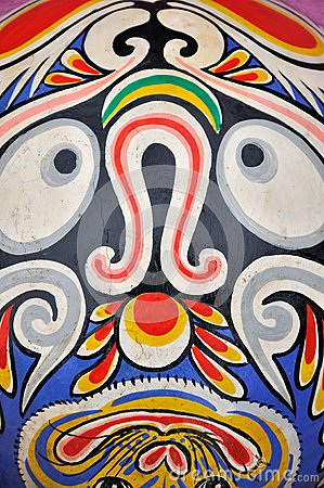 Totem pattern in Chinese western area