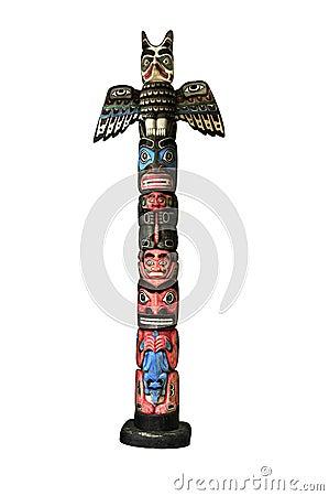 Free Totem Pole Royalty Free Stock Photos - 19922578