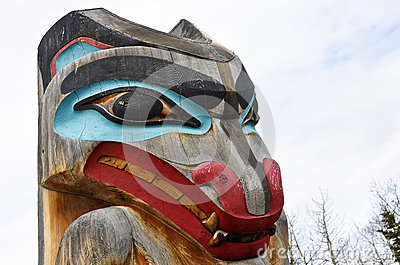 Totem Pole Stock Photography - Image: 25973722