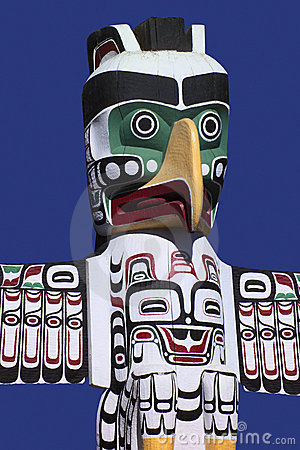 Totem Pole - Stanley Park - Vancouver - Canada