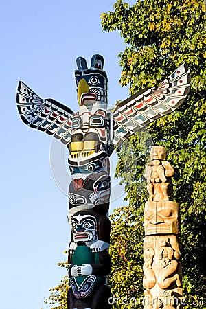 Free Totem Poles Stock Photos - 1341273