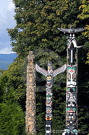 Free Totem Poles Stock Images - 244784