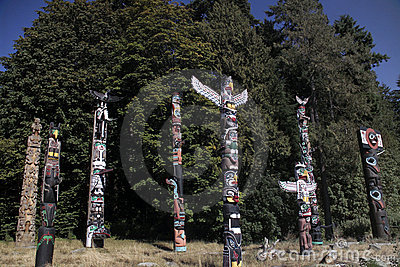 Totem Poles - Vancouver - Canada