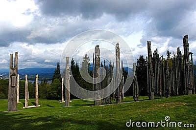 Totems Pole,Canada