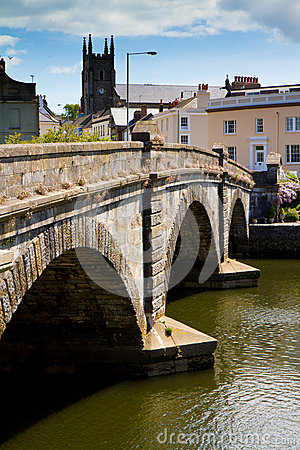 Totnes bridge in Totnes, Devon