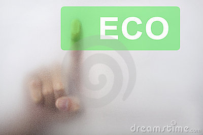 Touch the green eco button