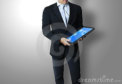 Touch pad concept in hands