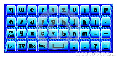 Touch pad keyboard