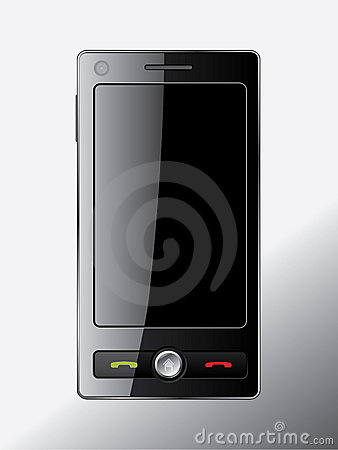 Touch screen cell phone design