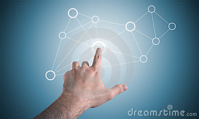 Touch Screen Display Stock Photos - Image: 19499073