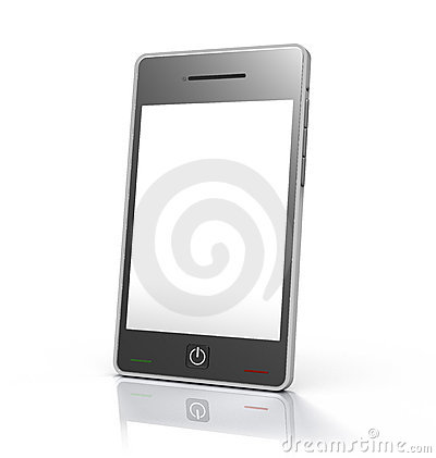 Touch screen mobile phone device