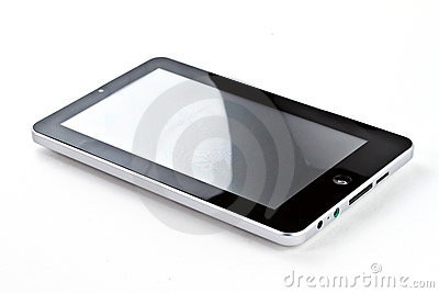 Touch screen tablet Editorial Stock Image