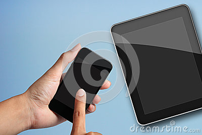Touch screen to smart phone and tablet pc.