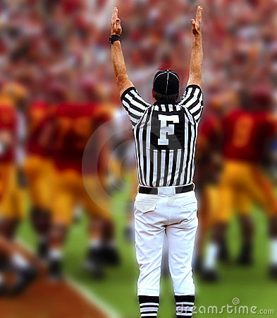Touchdown Editorial Image
