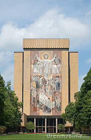 Touchdown Jesus Editorial Photography