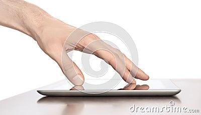 Touching On Apple Ipad Digital Tablet PC