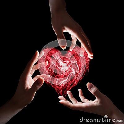 Touching love