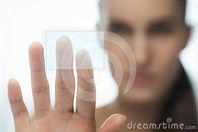Touching sencor screen